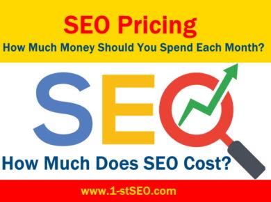 How Much Money Should You Spend Each Month? - How much SEO Cost